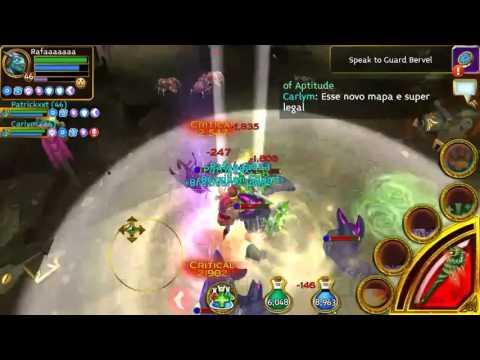 Arcane Legends - New Cap Level 56 -  Map 1/3