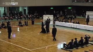 SAGA vs TOKYO 67th All Japan Interprefecture KENDO Championship 2019 2nd Round