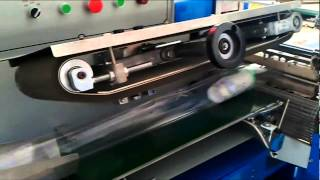Horizontal OPP Film Flow Packing Machine With Shrink Tunnel System