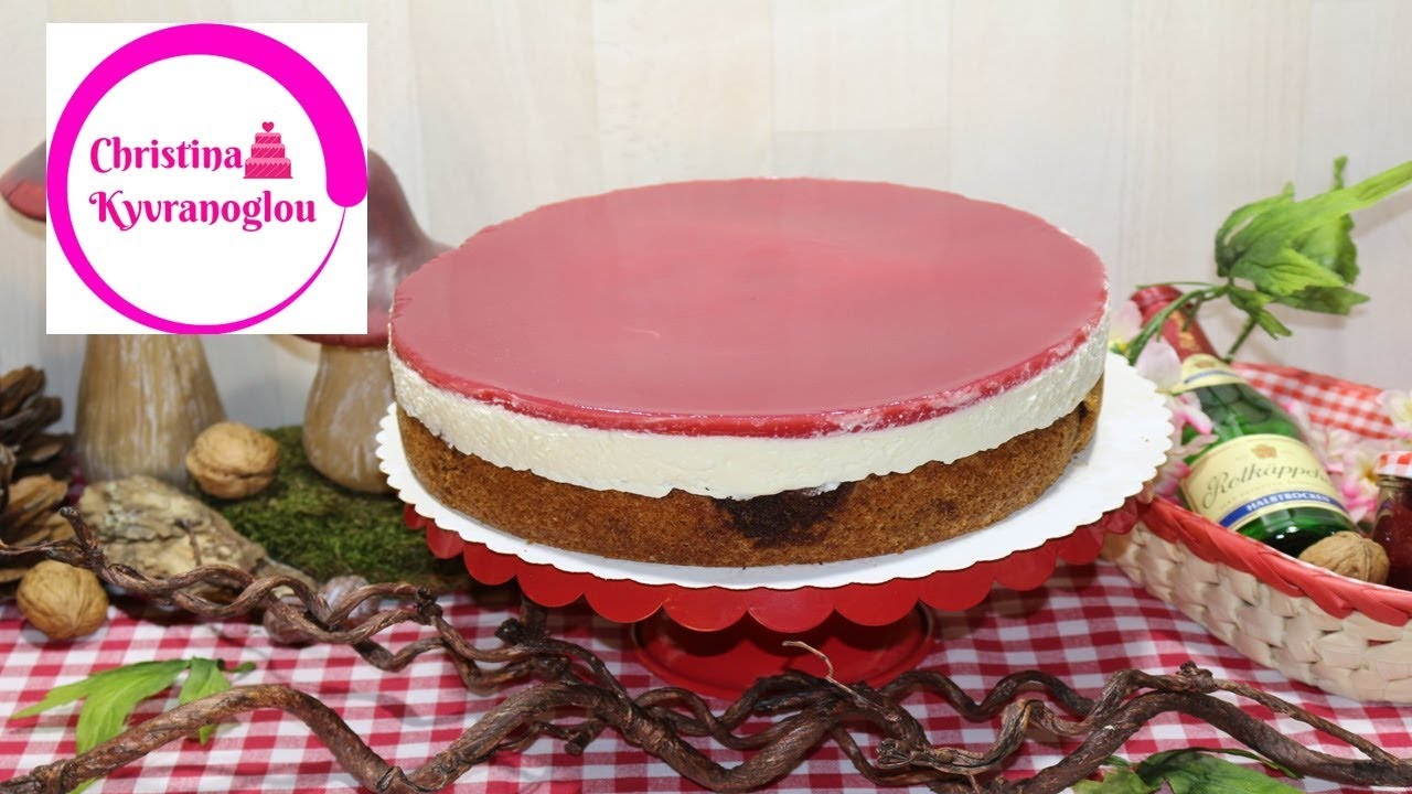 Rotkappchen Kuchen Classic Rezept Christina Kyvranoglou Youtube