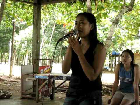 Maylene sing: Listen to your Heart / Roxette, Mindanao/Phillipines, Karaoke-Box, KTV