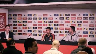 WALES v SPAIN Conference