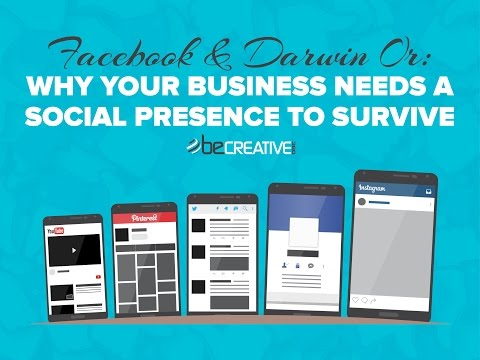 Facebook & Darwin Or: Why Your Business Needs A Social Presence To Survive by Matt Ehrmann