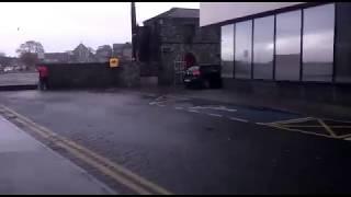 Huracán Ofelia en Galway, Irlanda