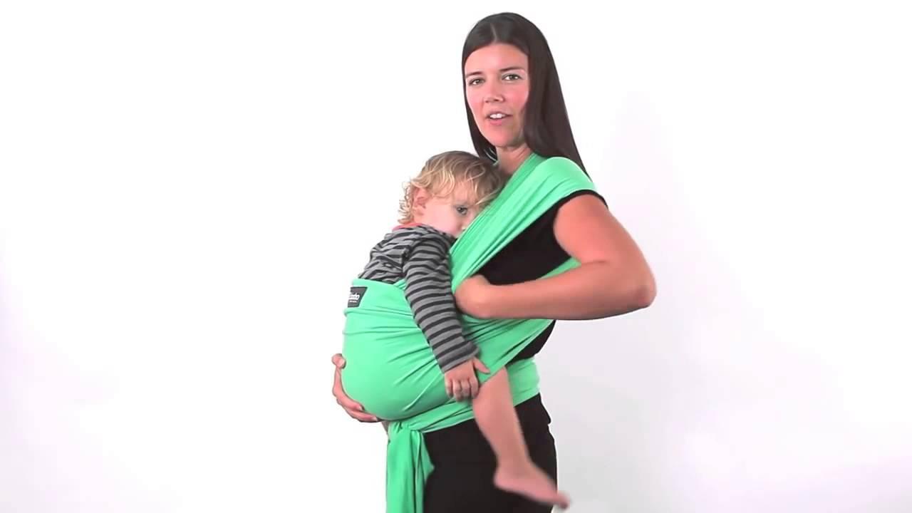 promotion spéciale meilleure qualité riche et magnifique Comment allaiter dans l'écharpe Boba Wrap