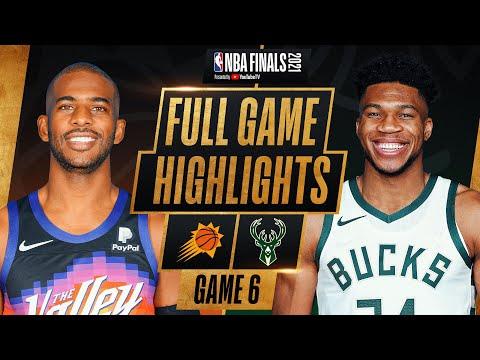 Download SUNS at BUCKS | FULL GAME 6 NBA FINALS HIGHLIGHTS | July 20, 2021