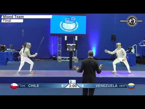 FE X Team CHI Juegos suramericanos de la Juventud 2017 Final podium Venezuela VEN vs Chile CHI mp4