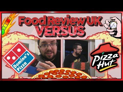 Domino's VS Pizza Hut | Food Review UK Versus