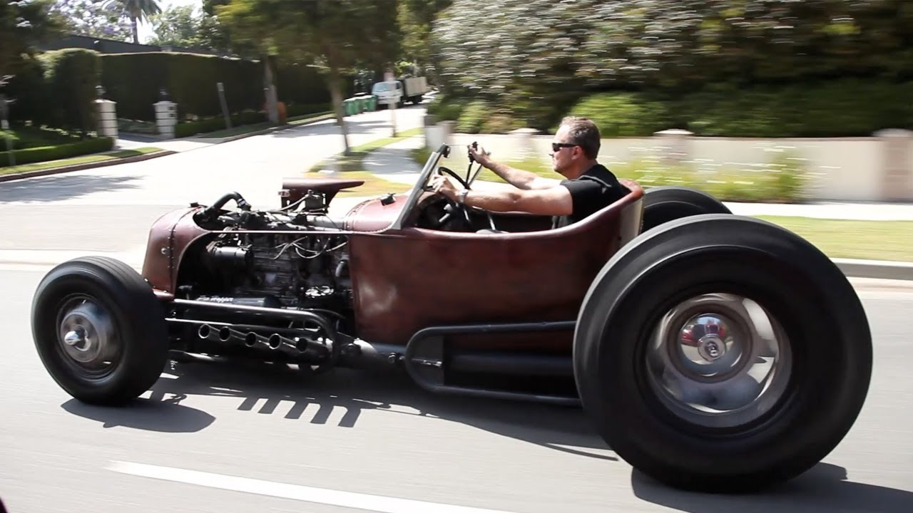 Satan's Rat-Rod: 1931 Ford - /BIG MUSCLE