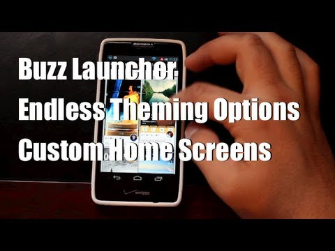 Buzz Launcher Ultimate Customization Home Screen Replacement App
