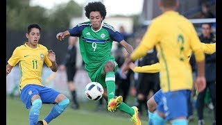 Samba kings Brazil turn on style against Northern Ireland