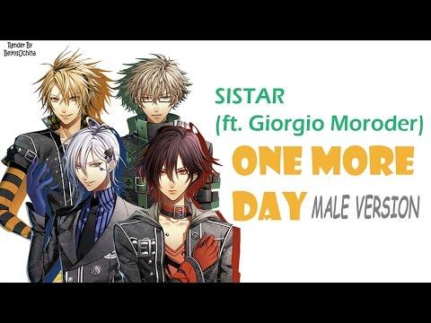 Download lagu terbaru Sistar, Giorgio Moroder - One more day [Male ver.] w/ lyrics Mp3 terbaik