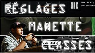 MANETTE, RÉGLAGES, STATS & CLASSES COMPÉTITIVES