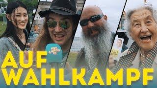"""Wahl 2017"" Aaron auf Wahlkampf !!!"