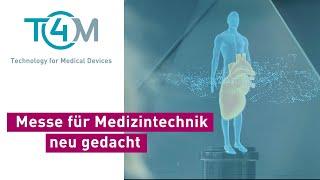 Messe für Medizintechnik neu gedacht I T4M Medtech
