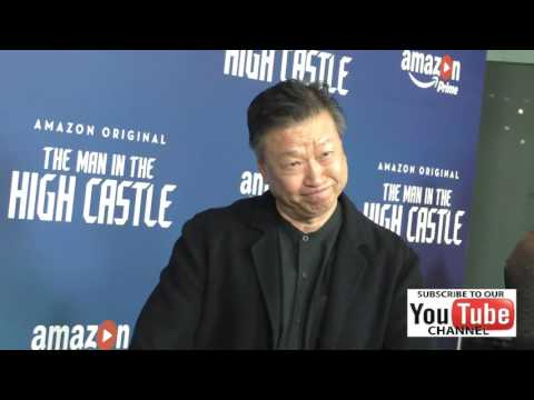 Tzi Ma at the Premiere Of Amazon's Man In The High Castle Season 2 at the Pacific Design Center in W