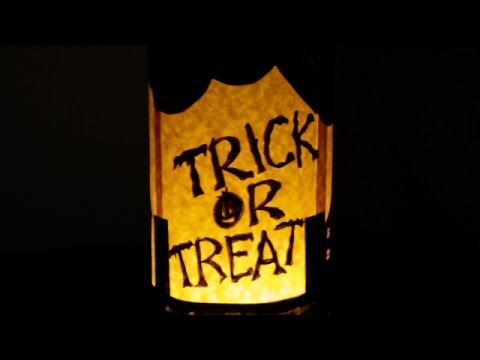 How To Make a Spooky Halloween Luminary - DIY Home Tutorial - Guidecentral