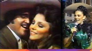 """Verónica Castro y Vicente Fernandez - """"Macumba"""" con Mariachi Chapala. Fragmento de Mala Noche No!"""