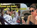 Saif and Bebo enjoy couple dinner with newly married Sonam Kapoor and Anand Ahuja in London :Video