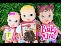 Download Baby Alive Dolls Bake A Cake Baby Alive babies Boo Boo Doctor, Birthday & Surprise Diaper Baby MP3 song and Music Video