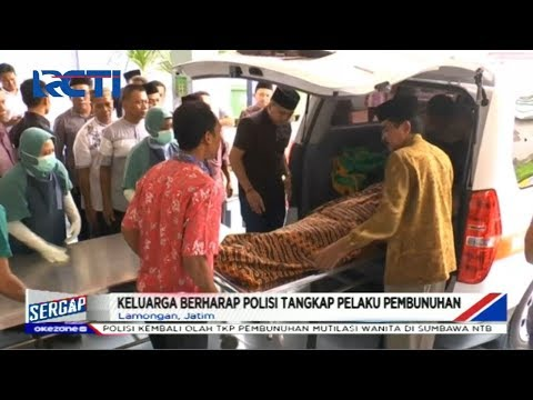 Pemilik Kos di Lamongan Tewas Dirampok, Sejumlah Perhiasan Hilang - Sergap 06/01