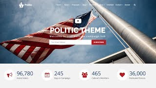 Politic WordPress Theme - Resp…