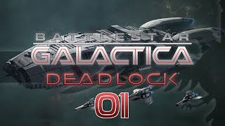 bATTLESTAR GALACTICA DEADLOCK #01 ATHENA Preview - BSG Fleet Command Let's Play