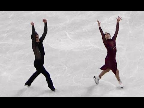 2018 平昌 PyeongChang Figure Skating Team Ice Dance Free Virtue Tessa & Moir Scott(CAN)