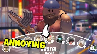 The Most ANNOYING Character in Roblox Q-Clash! (Rascal Gameplay)