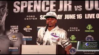 Errol Spence Jr. Says he just Wants to fight against Big Names