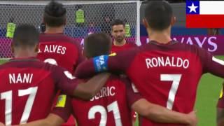 Chile vs Portugal penales  copa confederaciones 2017