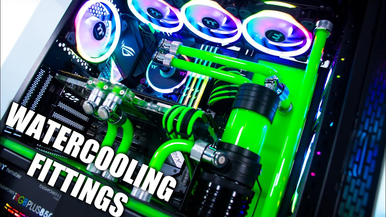 A Beginners Guide To Pc Water Cooling Fittings How To