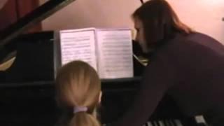 Школа искусств.Приволжье.Урок фортепиано.