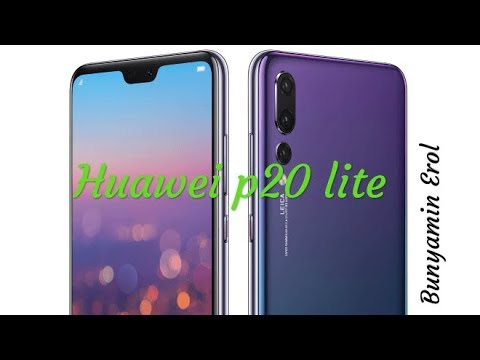 Huawei p20 lite kutu açılım ve inceleme