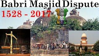 Babri Masjid And Ram Mandir Dispute 1528-2017 Hindi/Urdu