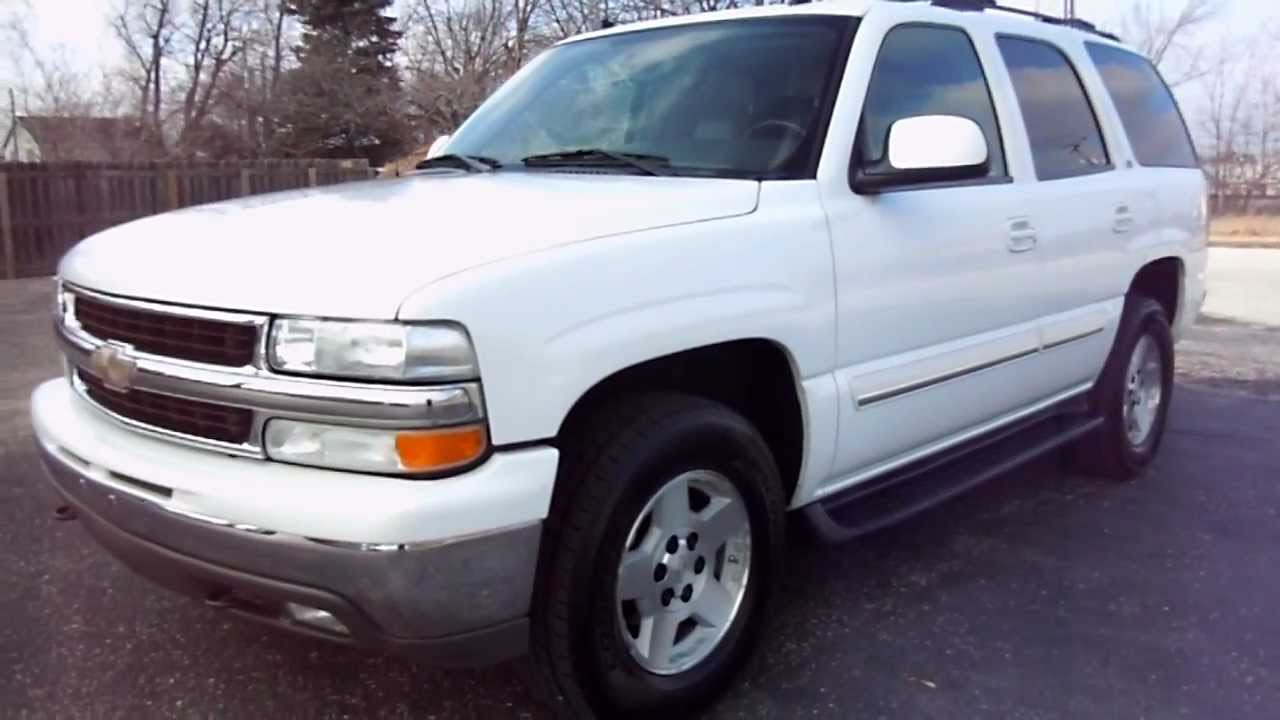 2004 chevrolet tahoe lt 4x4 youtube. Black Bedroom Furniture Sets. Home Design Ideas