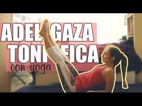 Yoga en casa para ADELGAZAR y TONIFICAR I Yoga para principiantes