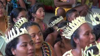 ポンナップ島記念式典 歓迎会(1/2) ヤップ島 検索動画 15