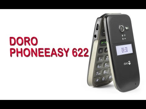 Doro Phoneeasy 622 Easy to use mobilephone Overview