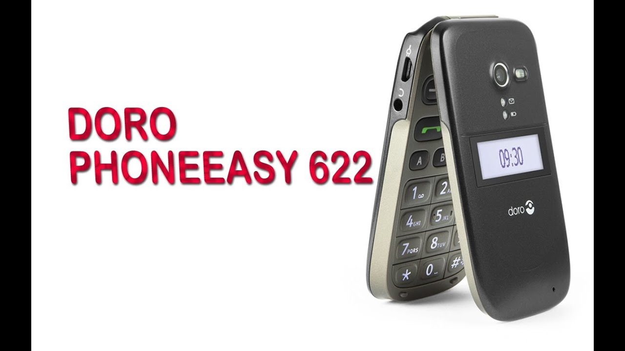 Doro Phoneeasy 622 Easy To Use Mobilephone Overview Youtube
