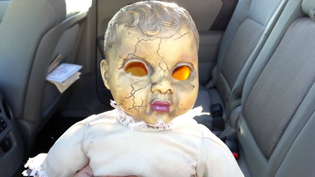 creepy doll from party city