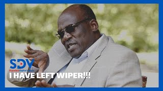 Former Machakos County Senator Muthama speaks after leaving Wiper Party