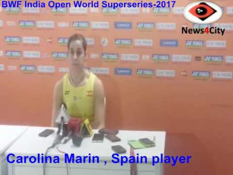 Carolina Marin in BWF India Open World Superseries-2017