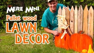 Mere Mini | Pallet Wood Autumn Yard Decoration