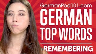 Learn the Top 10 Ways to Remember Words in German