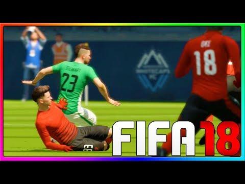 FUNNIEST GAME EVER! FOR REAL THIS TIME!!   FIFA 18 Pro Clubs