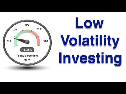 VB Threshold Strategy Replacements Part 5  -  TLT  -  Low Volatility Investing