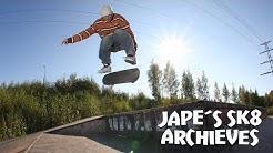 Jape Tiitinen skate video archieves