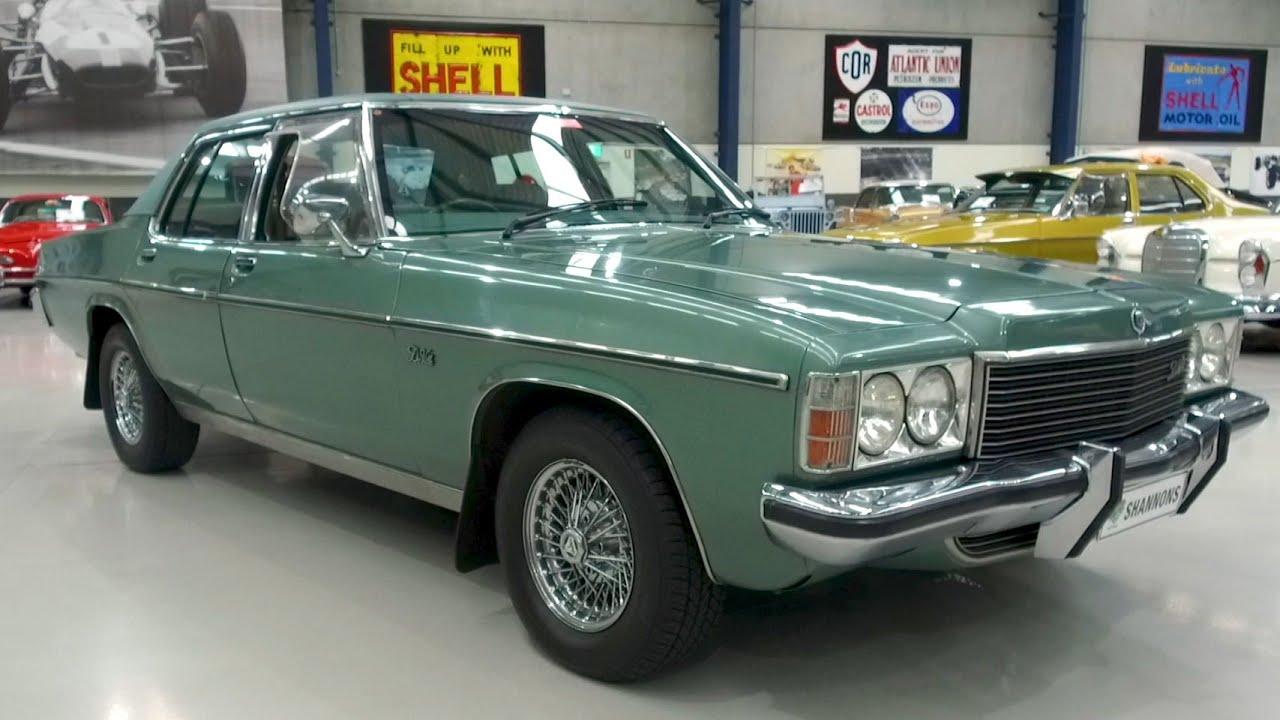 1979 Holden HZ Statesman DeVille Sedan - 2020 Shannons Winter Timed Online Auction
