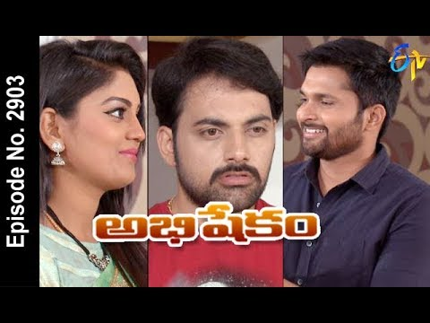 Abhishekam | 7th May 2018| Full Episode No 2903 | ETV Telugu